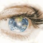 immagine occhio mondo