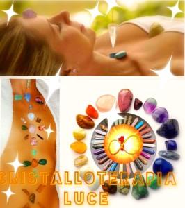 Cristallo Terapia luce infinita