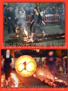 Firewalking luce